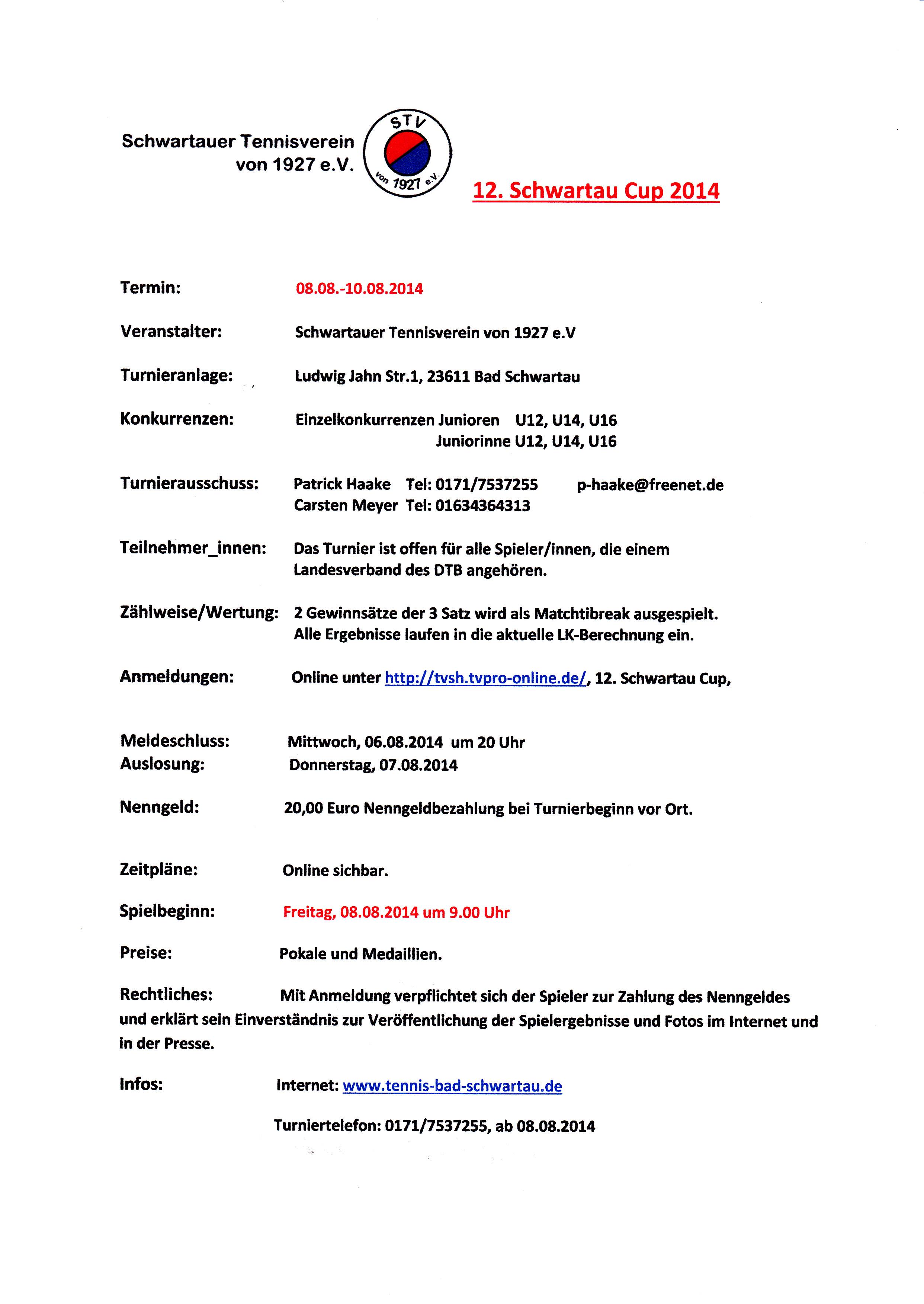 Tvpro Online De Das Turnierportal Turnierliste 12