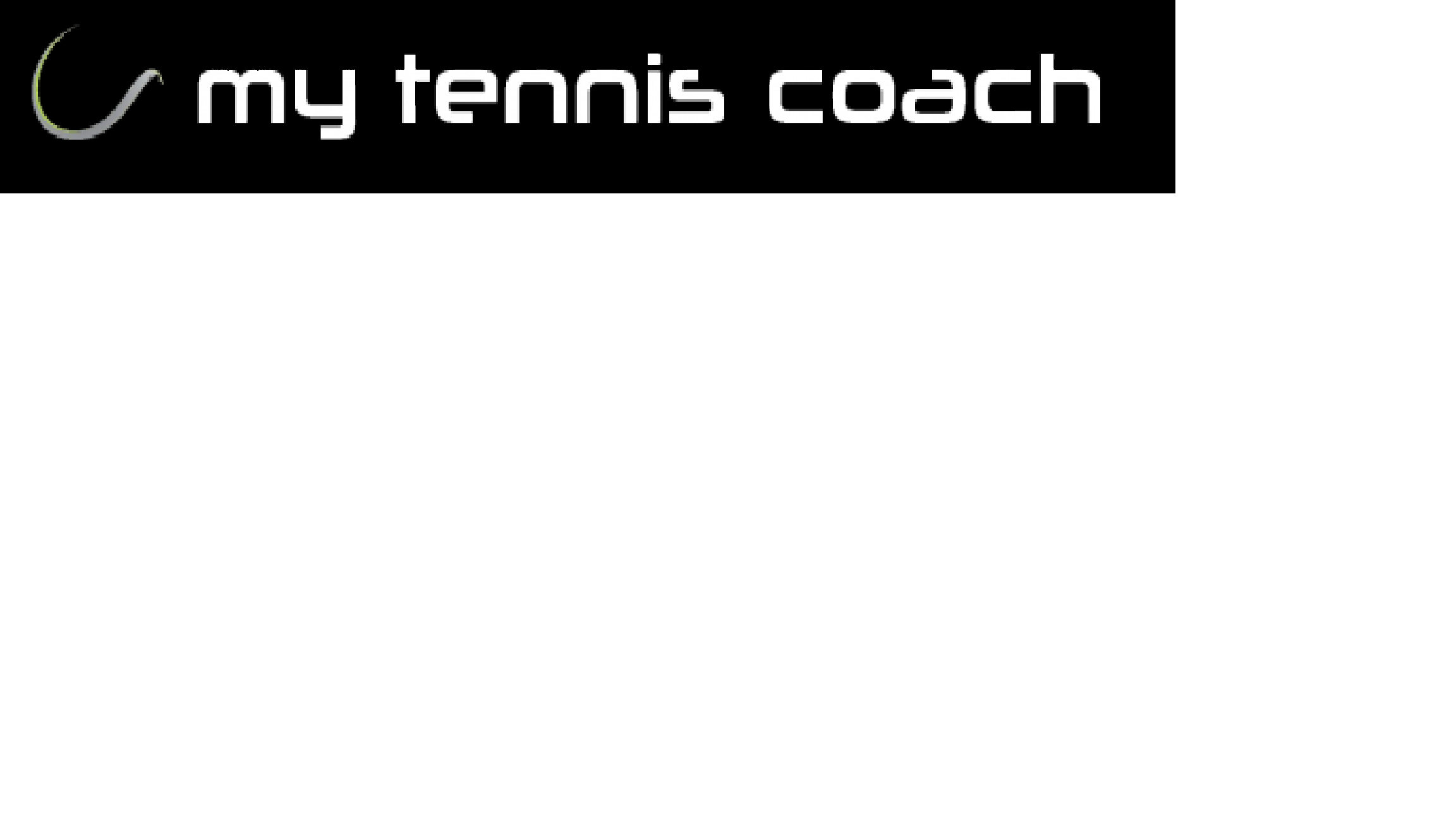 my tennis coach