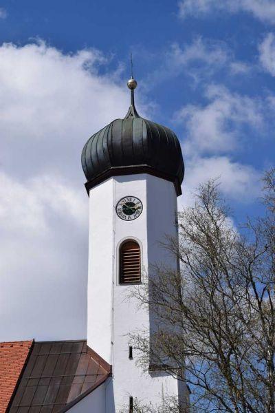 Kirchturmblick