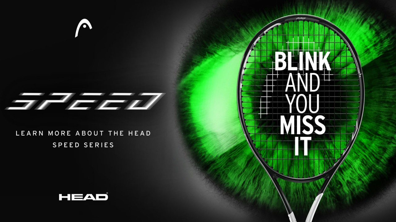 BLINK AND YOU MISS IT - HEAD präsentiert Graphene 360 Speed Racket Serie