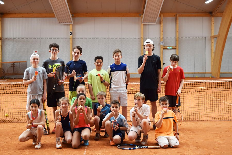 Turniertag im Oster-Tenniscamp