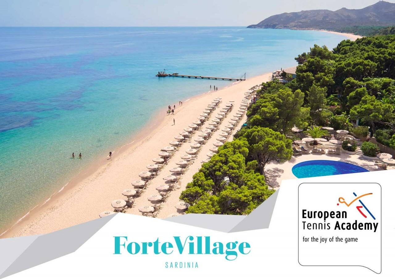 Herbst-Tenniscamp im Forte-Village auf Sardinien