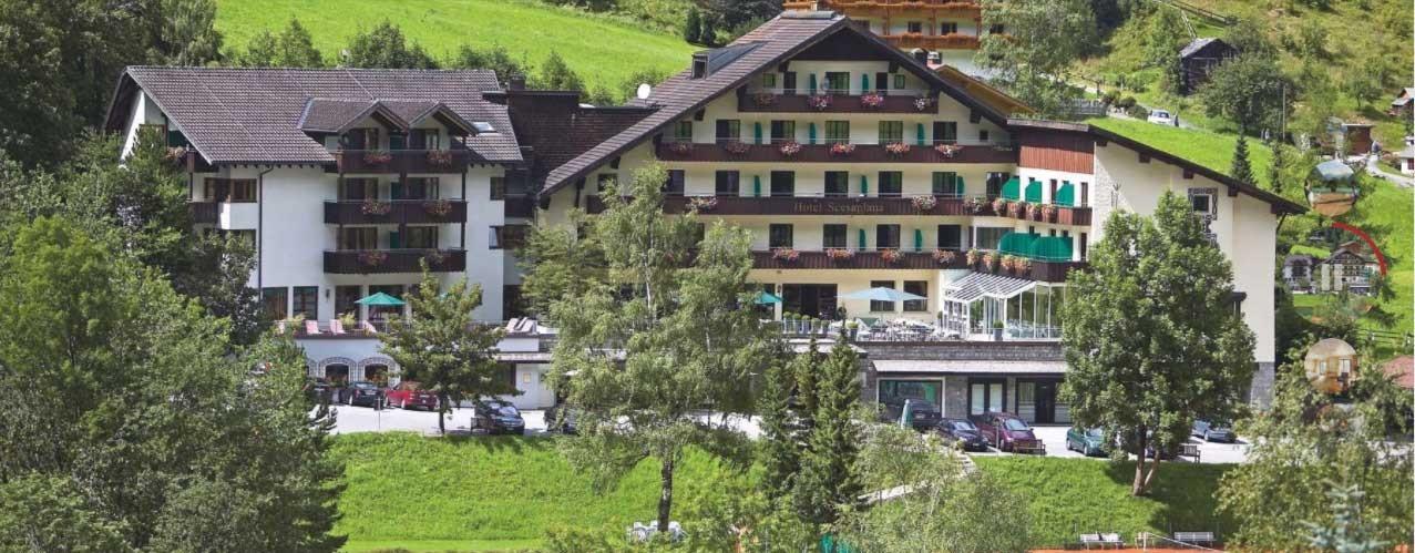 Tennissaisonvorbereitung 2018 im Garni Hotel Scesaplana in Brand in Vorarlberg/Österreich