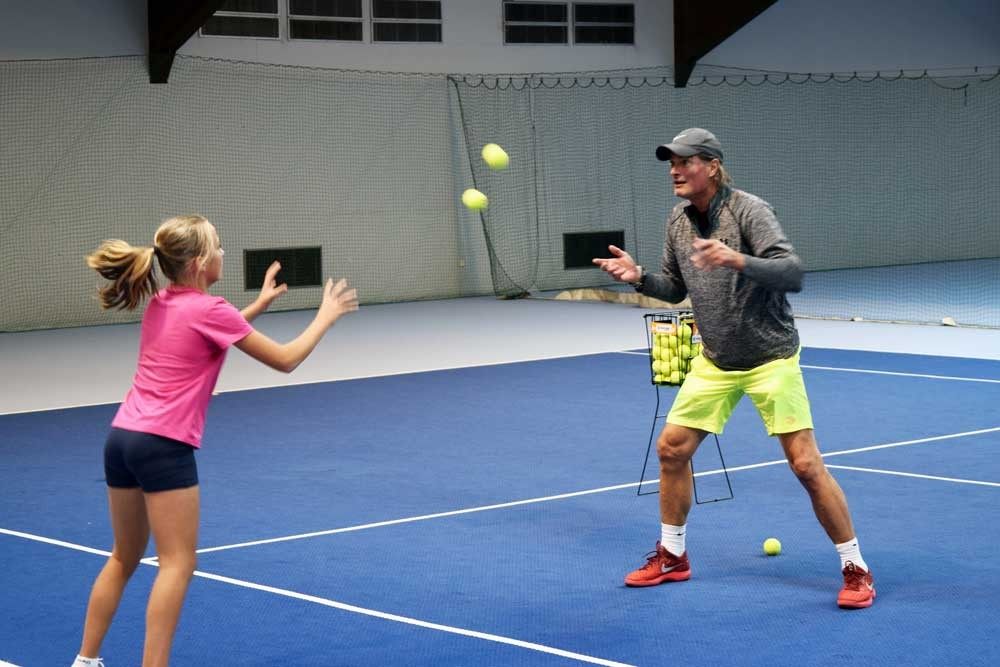 Tennis-Scouting mit Stephan Medem