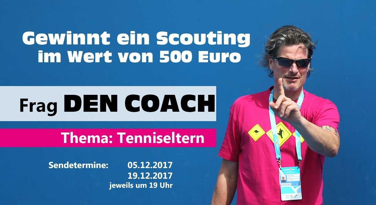 Frag den Coach-Scouting-Gewinnspiel