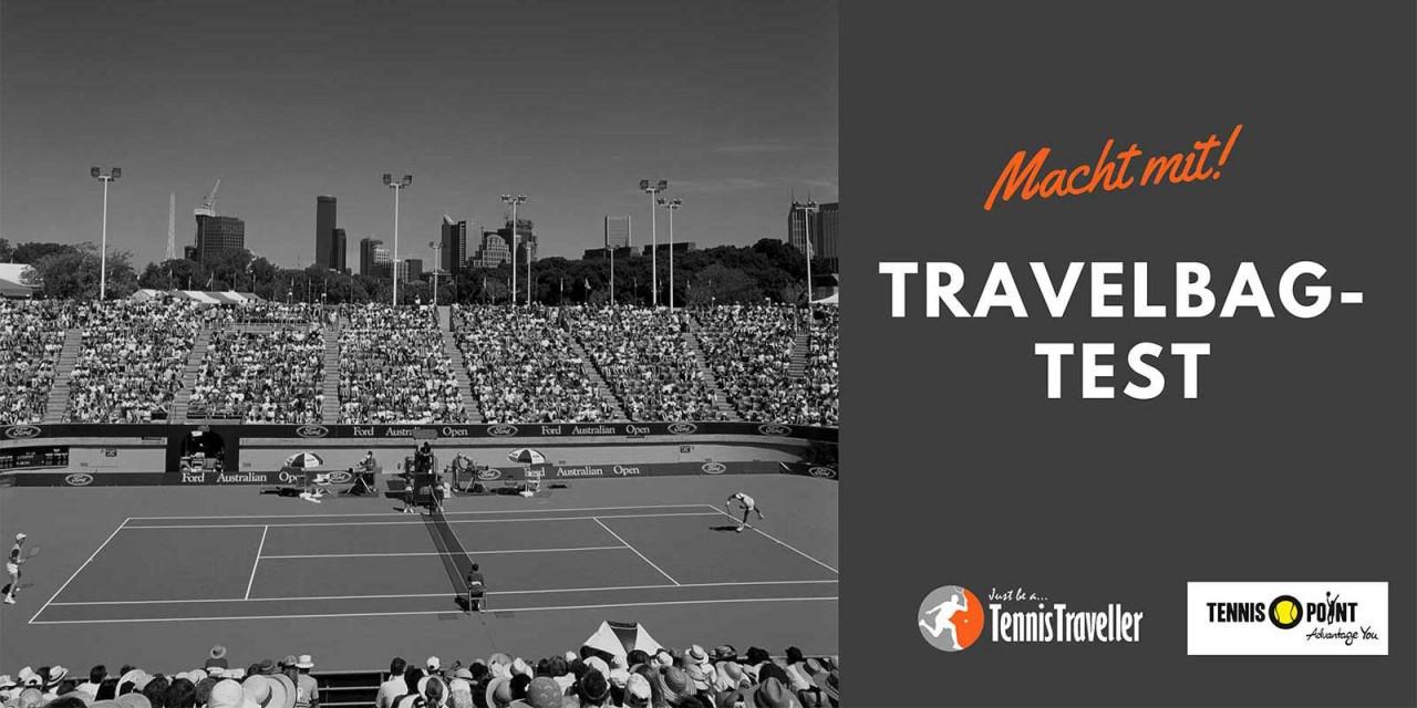TennisTraveller testet 5 Travelerbags - macht mit und gewinnt!