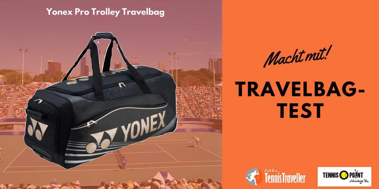 Yonex-Travelbag im Test auf dem TennisTraveller