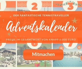 Der fantastische TennisTraveller-Adventskalender