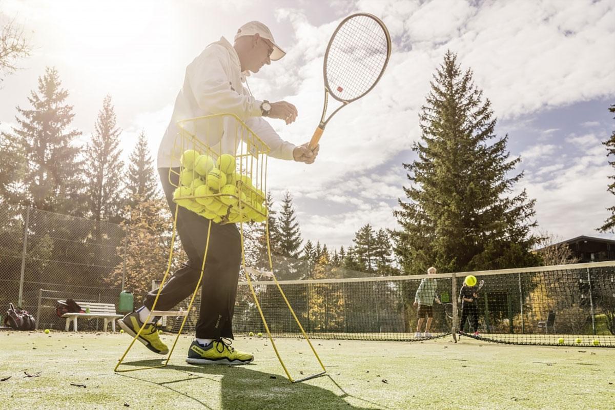 Tennis Power-Weekend mit der Tennis-Schule International im Tennishotel Vier Jahreszeiten Schluchsee im Schwarzwald