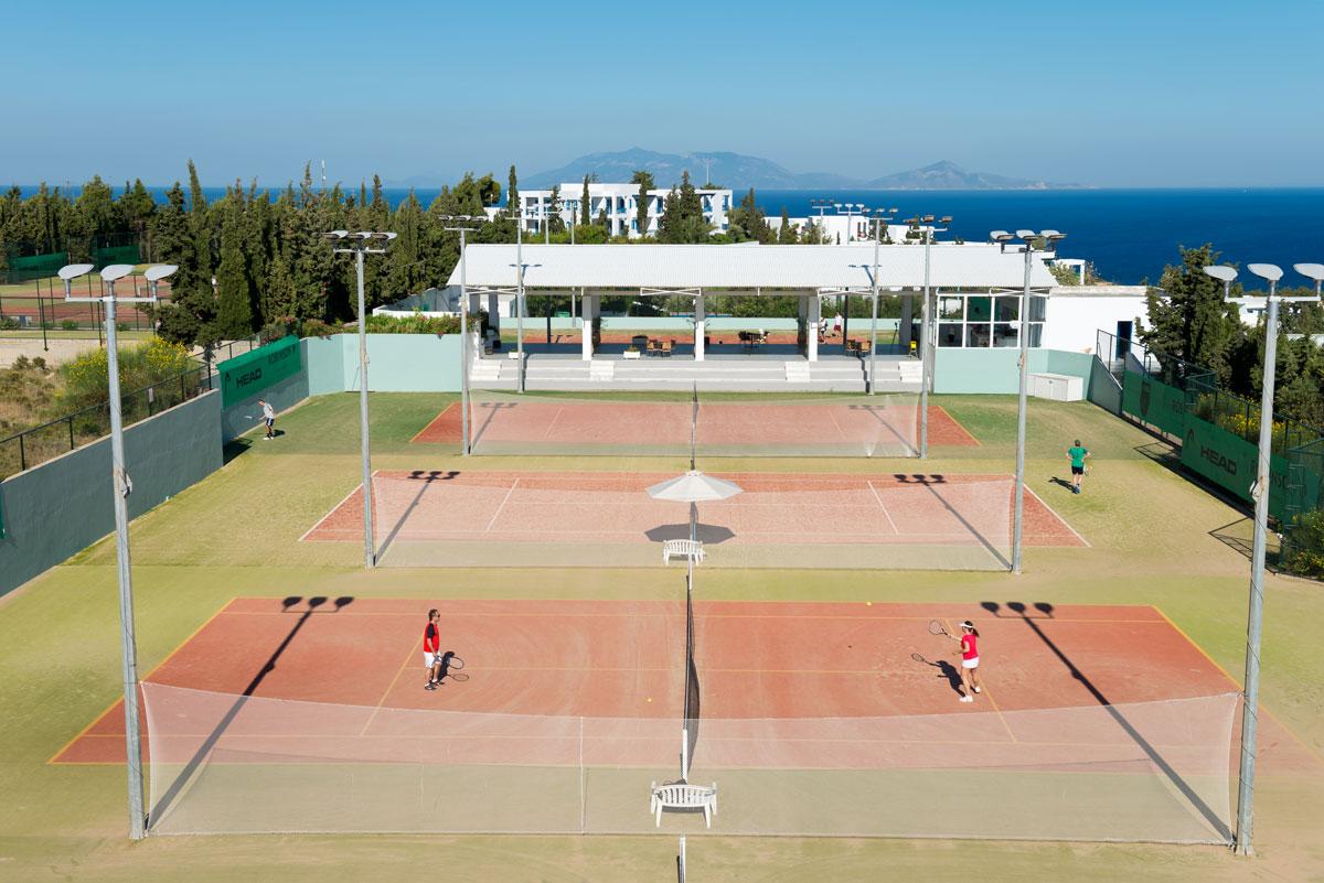 Tenniscamp im ROBINSON Club Daidalos mit Patrik Kühnen