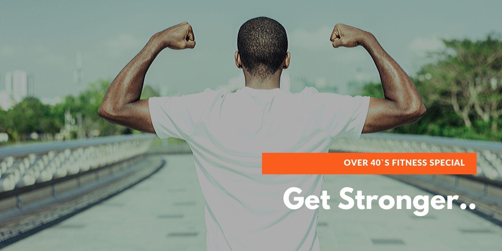 Over 40`s Fitness-Special - Schwerpunkt Kraft