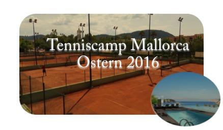 Tenniscamp Mallorca 2016